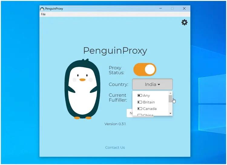 Penguin Proxy  :  Ανώνυμη υπηρεσία VPN για ασφαλή πλοήγηση στο διαδίκτυο