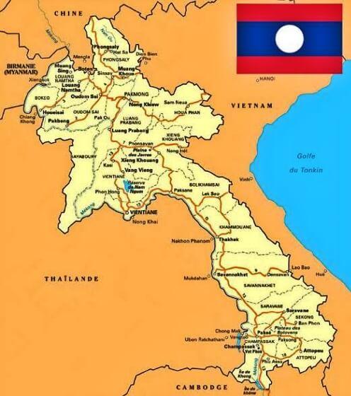 Negara di Asia Tenggara Yang Tidak mempunyai Laut Adalah?