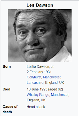 When did les dawson died?