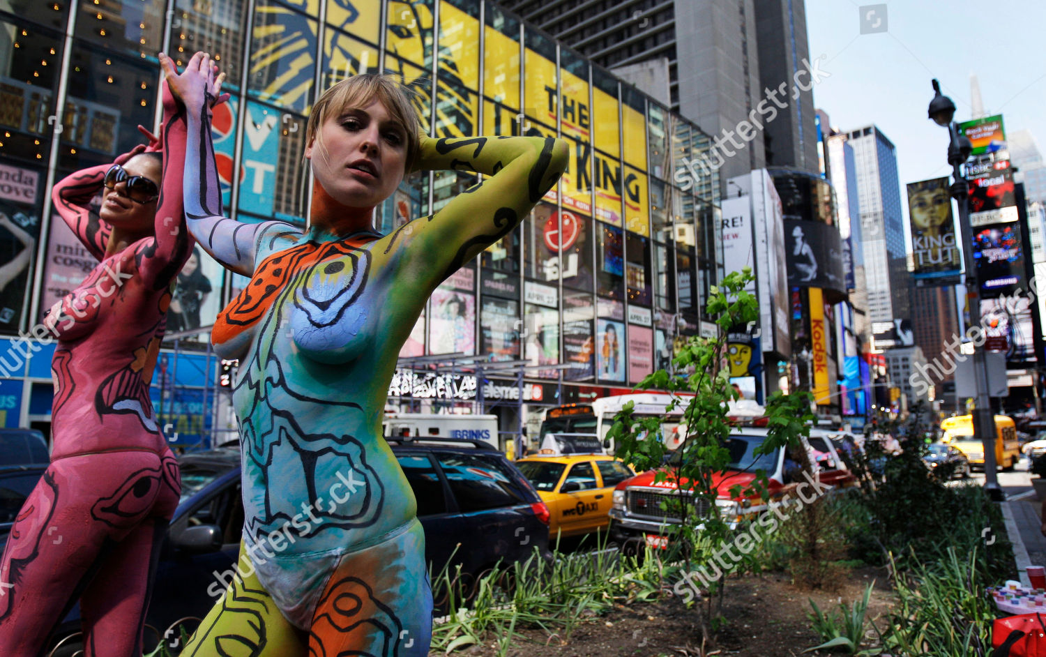 NYC Bodypainting Day - SFGate