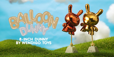 "Balloon Dunny 8"" Vinyl Figure by Wendigo Toys x Kidrobot"