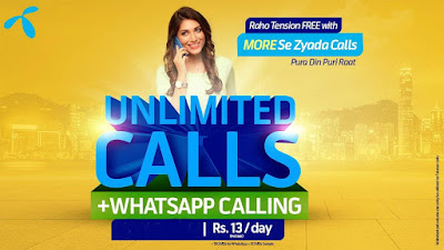 Telenor Unlimited Calls Full Day Offer Package