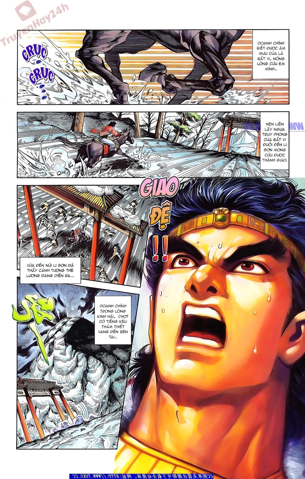 Tần Vương Doanh Chính chapter 45 trang 2