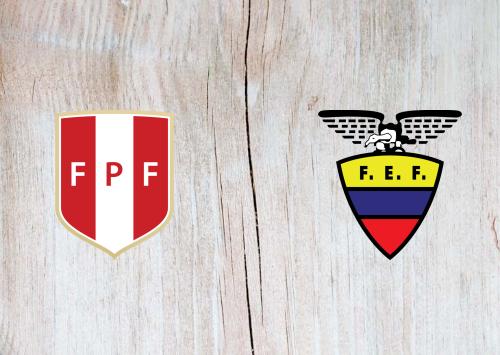 Peru vs Ecuador -Highlights 6 September 2019