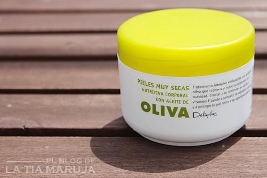 crema aceite de oliva Deliplus Mercadona