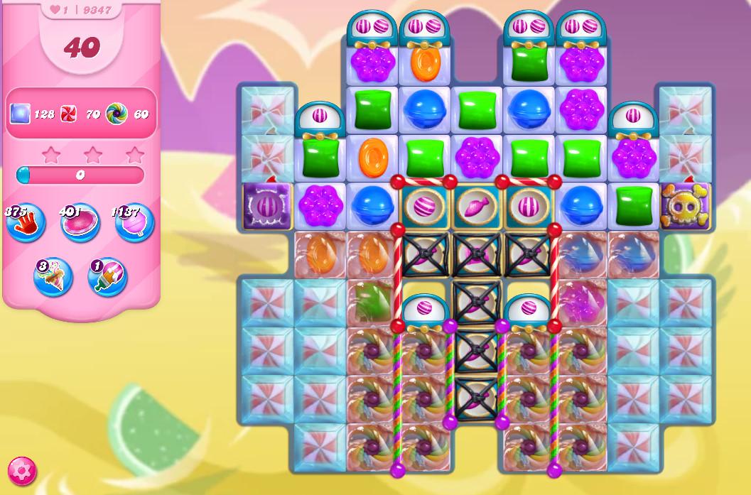 Candy Crush Saga level 9347