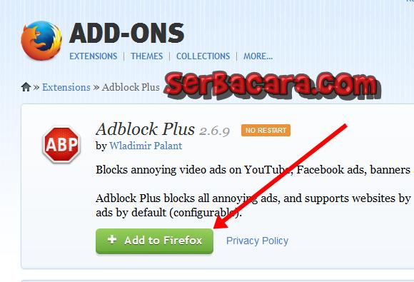 Blok Iklan Browser