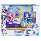 My Little Pony Equestria Girls Minis Beach Collection Relaxing Beach Lounge Set Rarity Figure