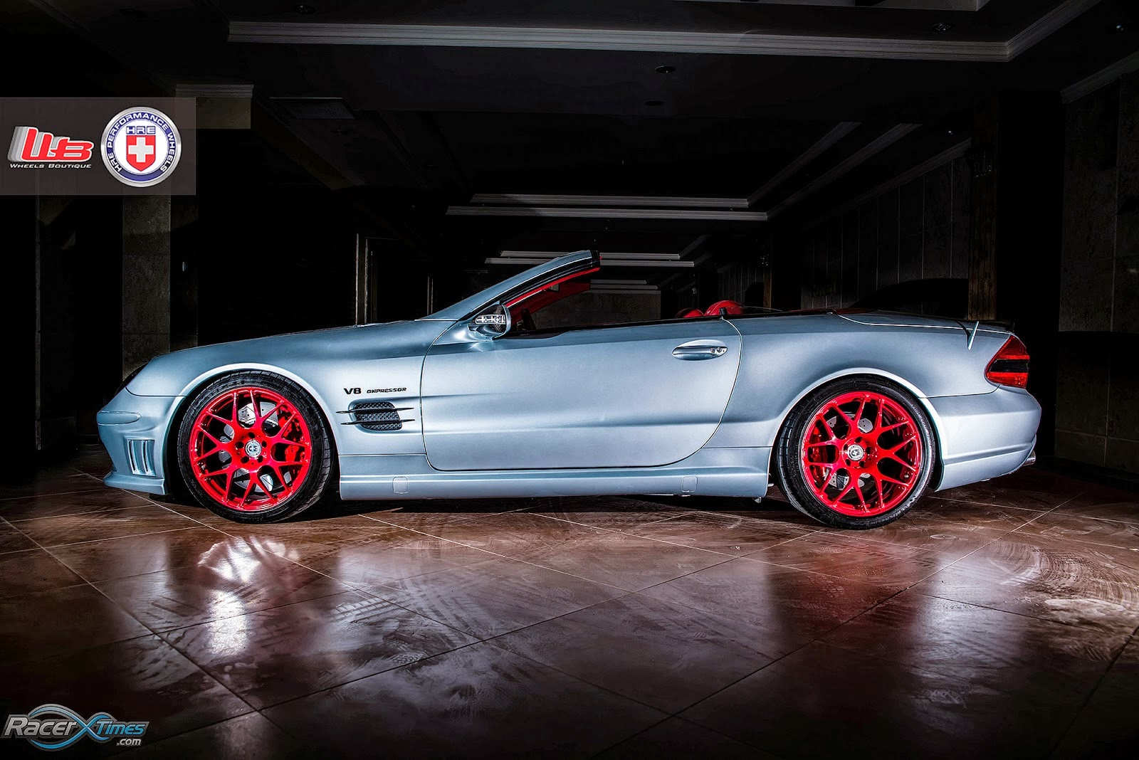 sl55 amg wheels