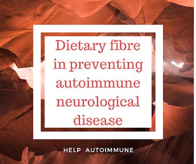 Dietary fibre in preventing autoimmune neurological disease
