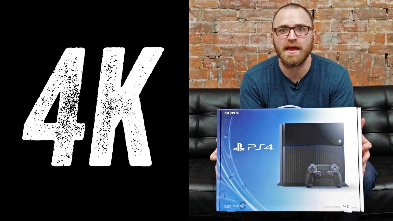 Sony rumors: PlayStation 4 in 4K resolution