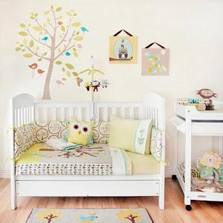 Cuarto de bebé decorado