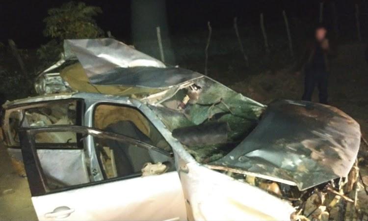 Grave acidente deixa quatro pessoas mortas e outras duas feridas na Chapada Diamantina