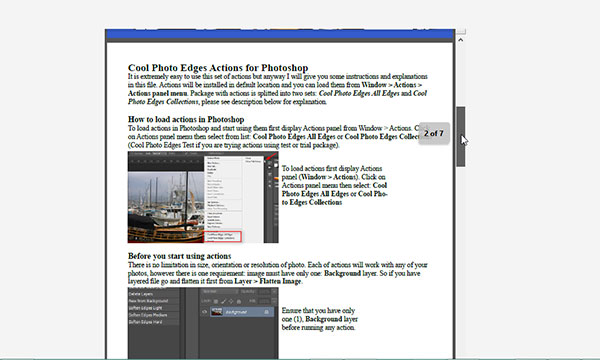 PDF file embedded using HTML tag