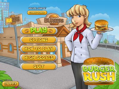 漢堡餐廳(Burger Rush),結合模擬經營與消除遊戲!