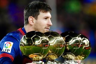 Biografi Messi Barcelona