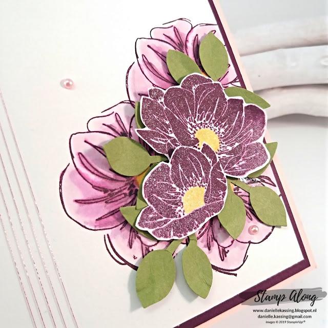 Stampin' Up! floral essence