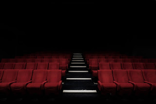 Movie theater - red seats