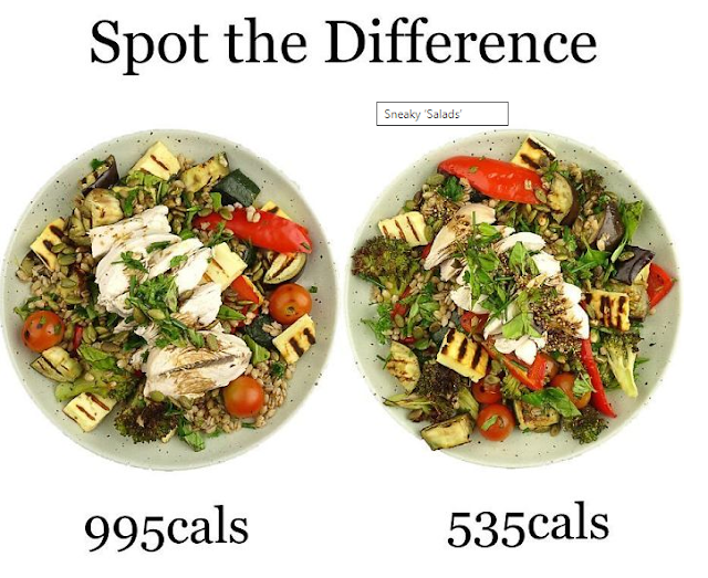how much calories are in a healthy food ?