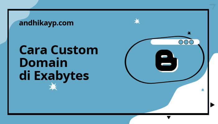 cara custom domain di exabytes
