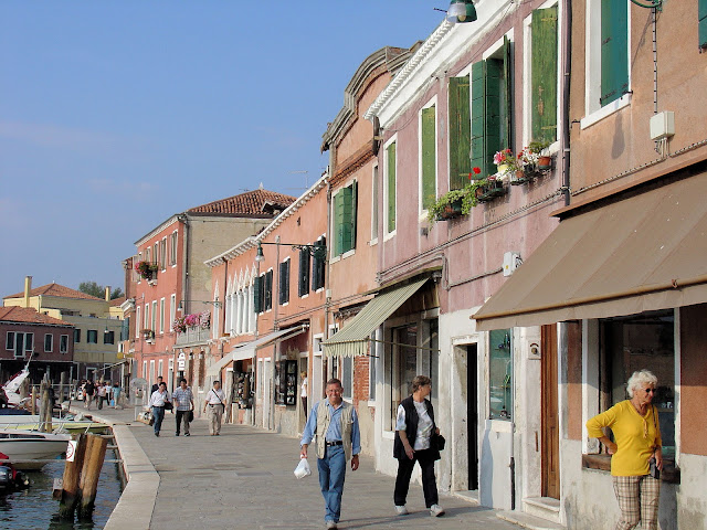 Spend the afternoon touring Murano—the island of glass. It even has its own Grand Canal!