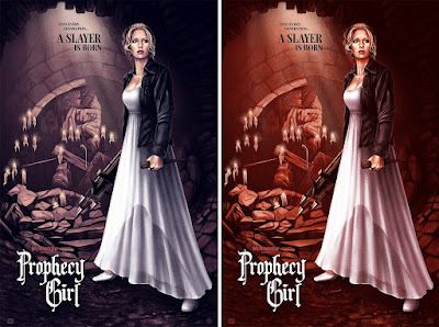 "Buffy the Vampire Slayer ""Prophecy Girl"" Screen Print by Sara Deck x Mondo"