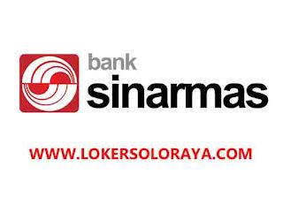 Lowongan Kerja Bank Sinarmas KCP Solo Baru Senior Relationship Officer