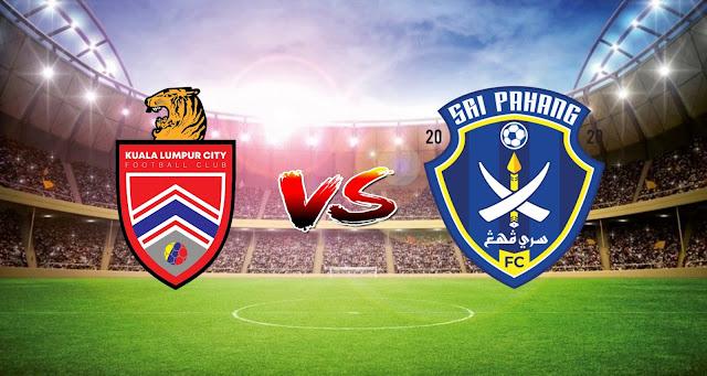 Live Streaming Kuala Lumpur vs Sri Pahang FC 10.4.2021 Liga Super
