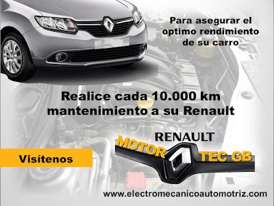 Revision de Kilometraje Renault