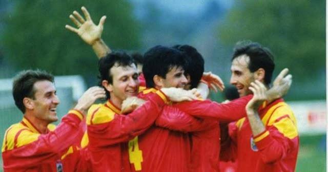 Kalender 23. März 1994: Erstes Heimspiel der Mazedonischen Nationalmannschaft