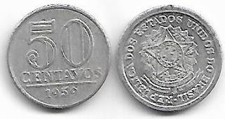 50 centavos, 1959