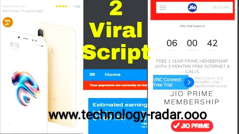 Paytm Whatsapp Viral PHP Script