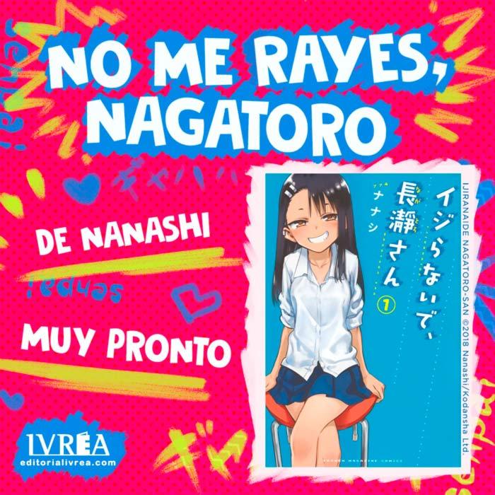 No me rayes, Nagatoro (Ijiranaide, Nagatoro-san) manga - Nanashi - Ivrea