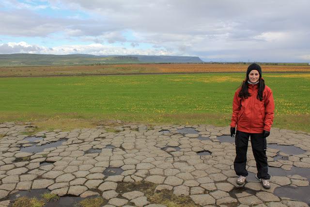 Suelo de iglesia en Islandia