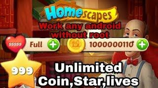 Get Homescapes Unlimited Stars and Coins For Free! 100% Working [November 2020]