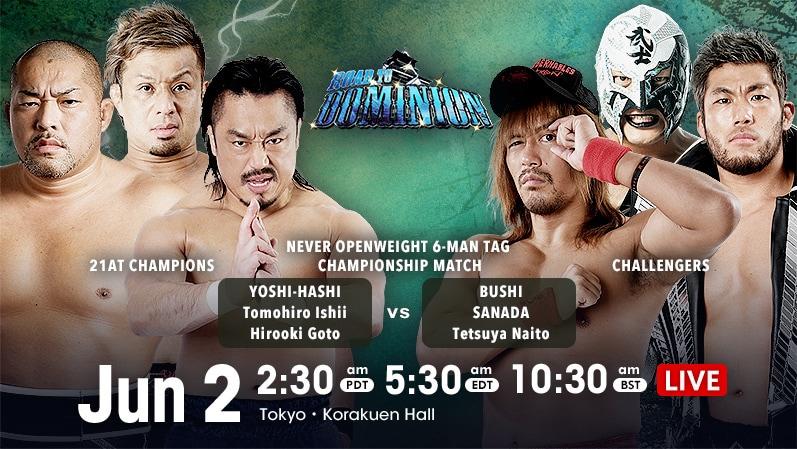 Cobertura: NJPW Road To Dominion 2021 – Day 02 – Caótico!