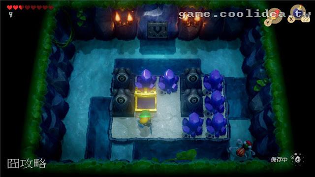 薩爾達 織夢島攻略 燈魚怪瀑布池迷宮3