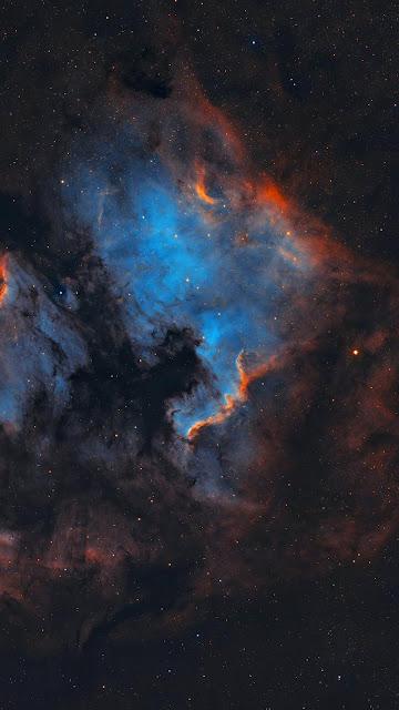 Wallpaper Iphone Space Nebula Iphone