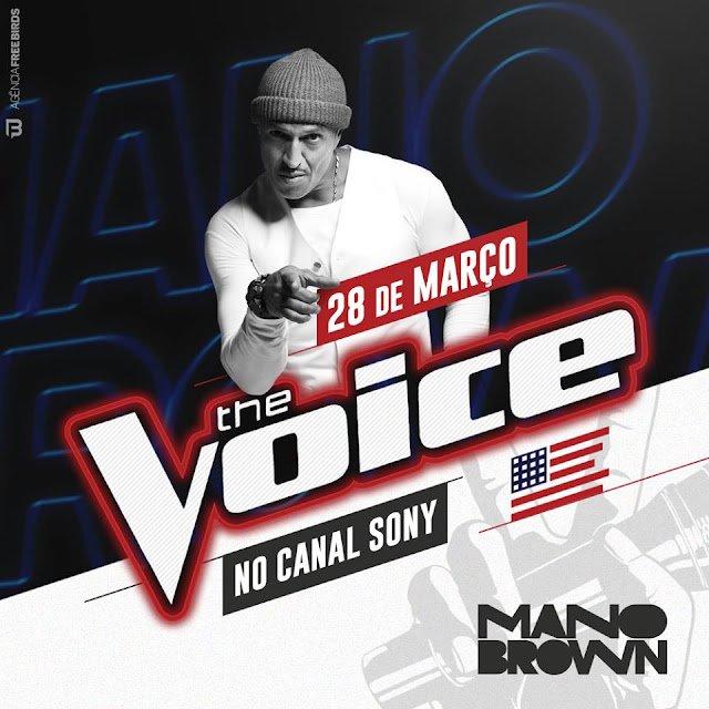 Mano Brown vai ser entrevistado amanhã no The Voice Extra no Canal Sony