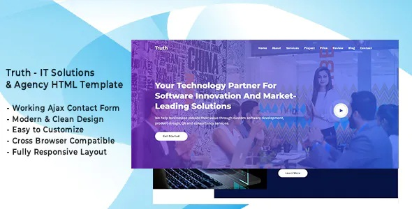 IT Solutions & Agency Template