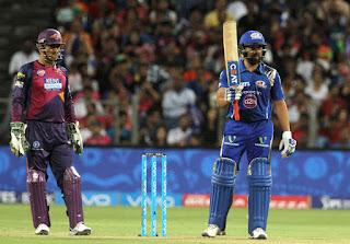 Rohit Sharma 85* - RPS vs MI 29th Match IPL 2016 Highlights