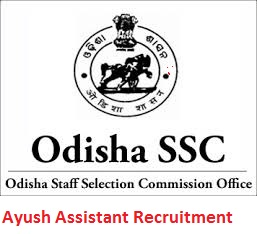 OSSC Ayush Assistant Recruitment 2019