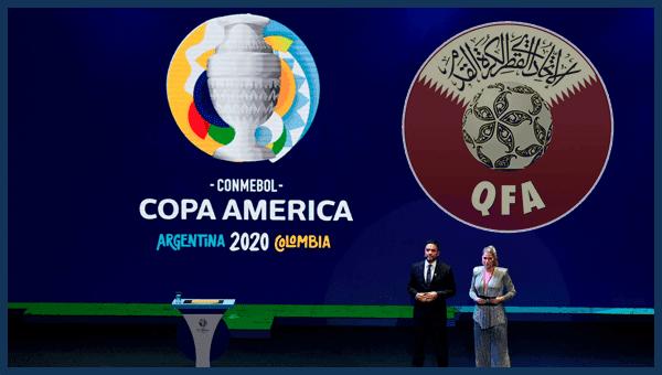 نتائج قرعة كوبا امريكا 2020 | قطر تواجه كبار القارة الأمريكية