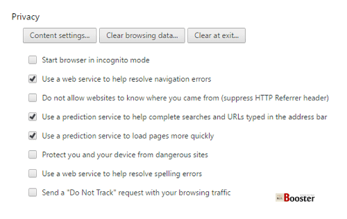 This site cannot be reached - Allow DNS Prefetching