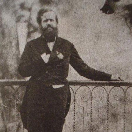 Foto de Dom Pedro II. O último imperador do Brasil