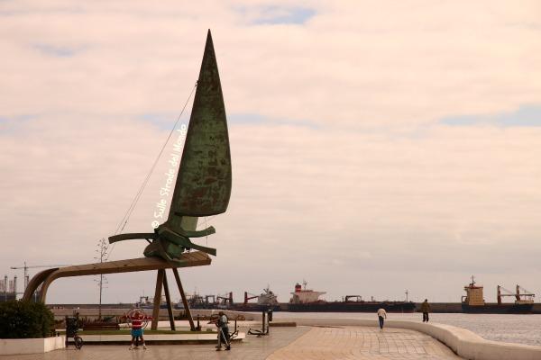 Las Palmas, monumento alla vela latina