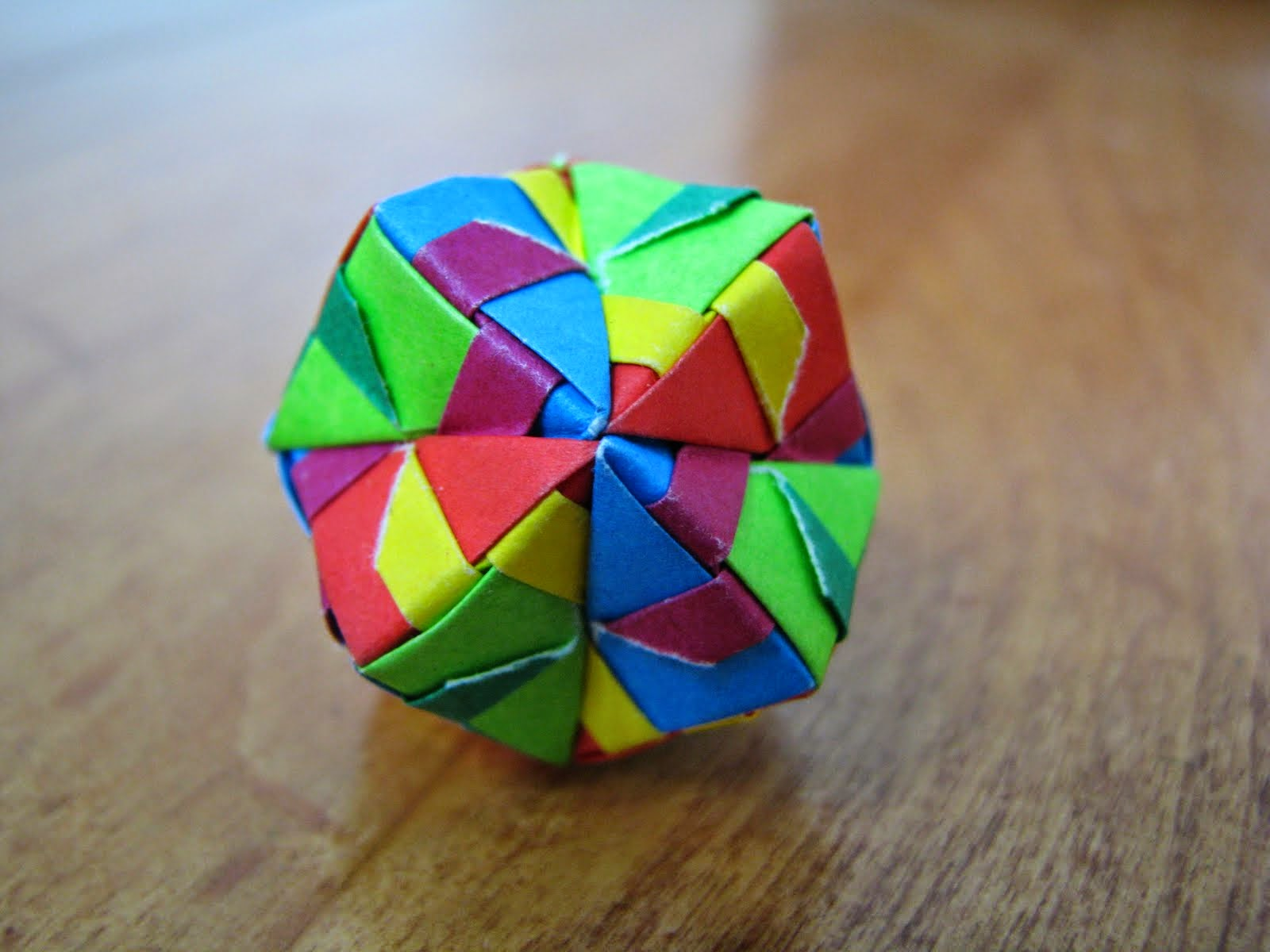 origami sphere ~ 3d origami for kids - photo#4