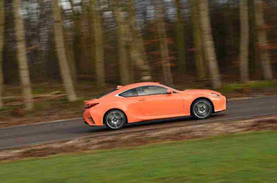Side View of Lexus RC Cars