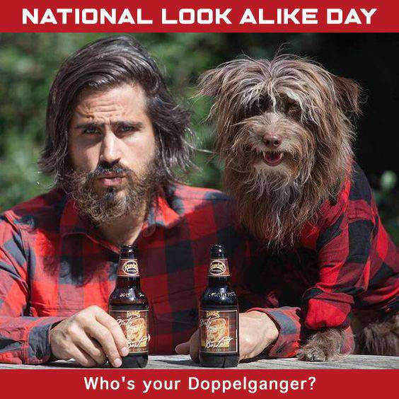 National Look-Alike Day Wishes Awesome Picture
