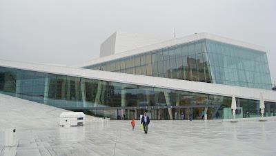 Imagen de la opera de Oslo